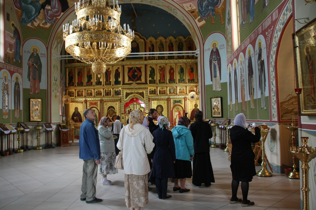 Паломничество в Дмитров