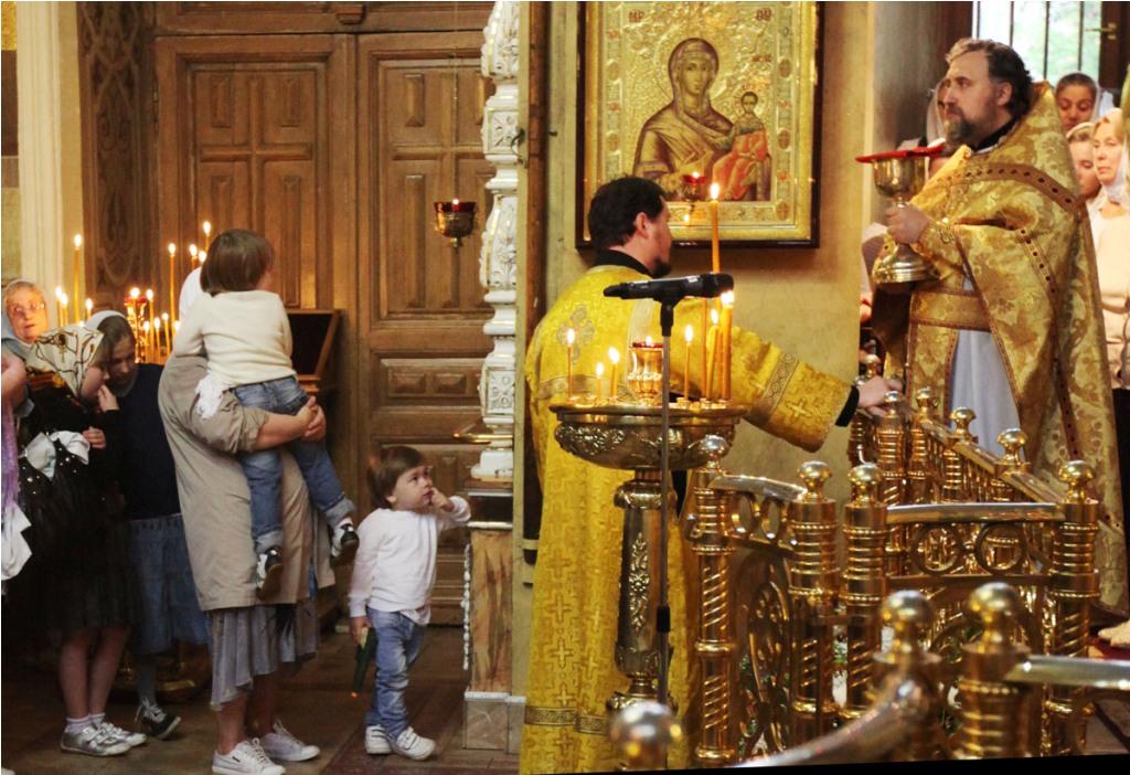 Собор Всех Святых. Престольный праздник.