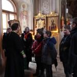Молебен для школьников