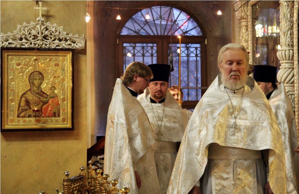 Крещение Господне. Литургия.