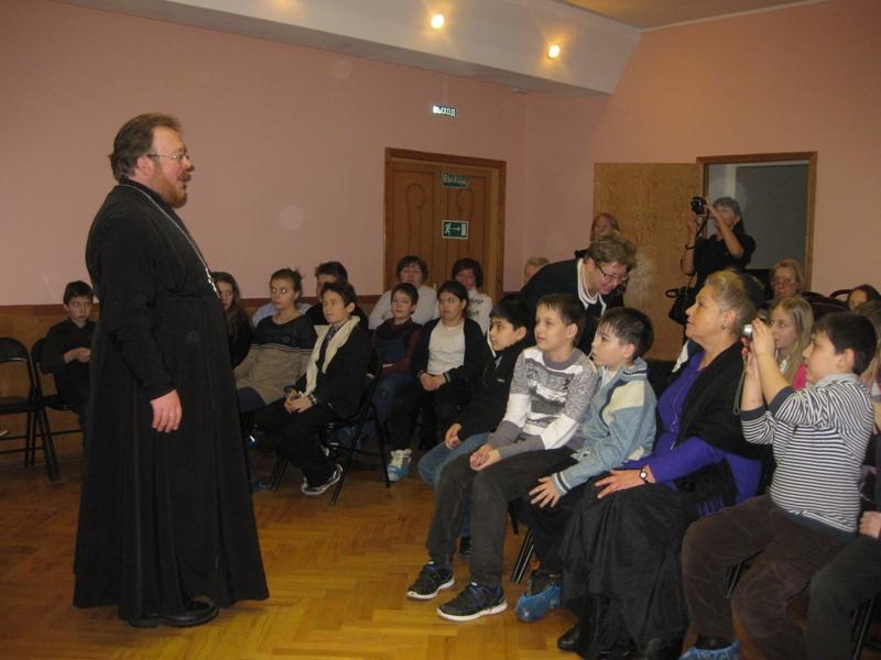 Встреча со школьниками в библиотеке № 63