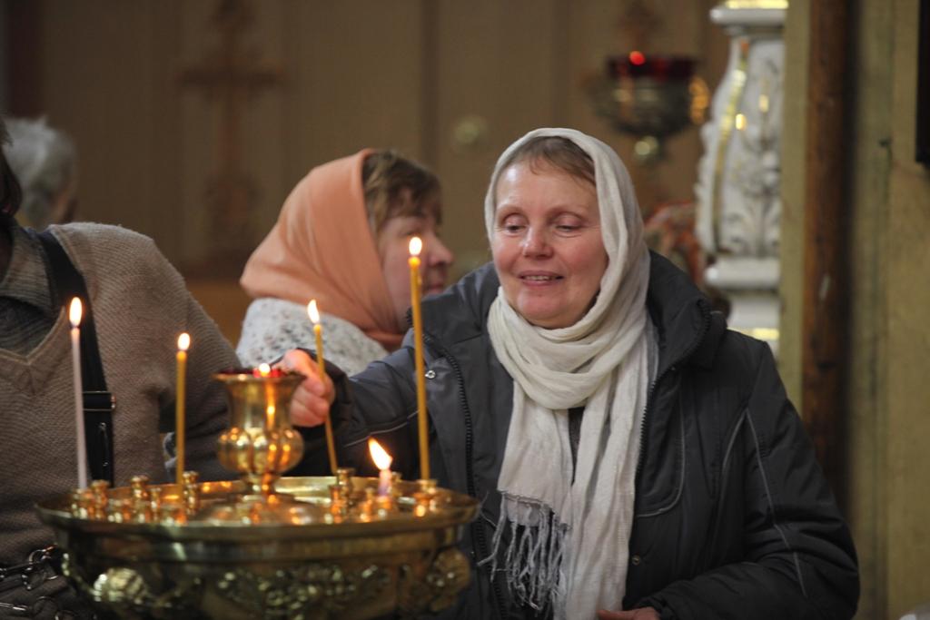 Престольный праздник - Всенощное бдение и Литургия. ФОТО.