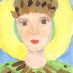 3 Пыхтина Катя 8 лет- Великомученица Екатерина