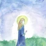 6 Пыхтина Елена - Богородица Мария в детстве