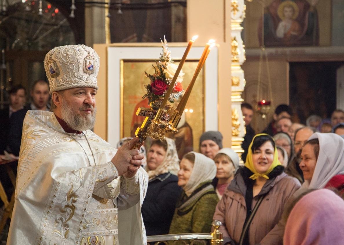 Пасхальное Богослужение. Фото