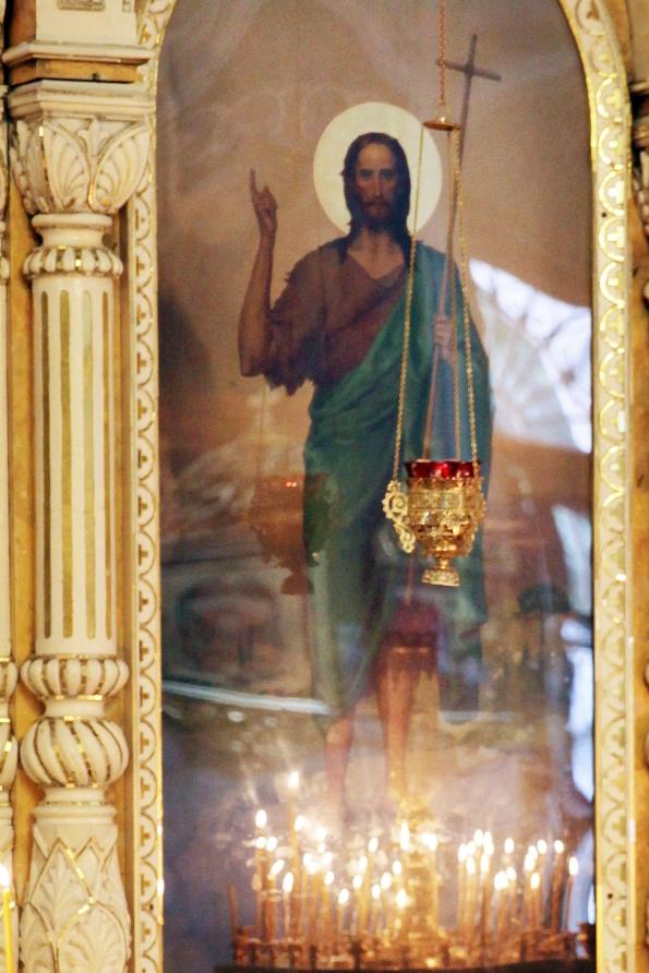 В храме Всех Святых  были даны обеты трезвости.