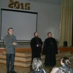 Клирик нашего храма принял участие в проведении Олимпиады по ОПК