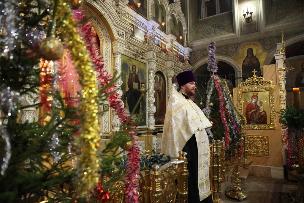 Рождество Христово. Всенощное бдение