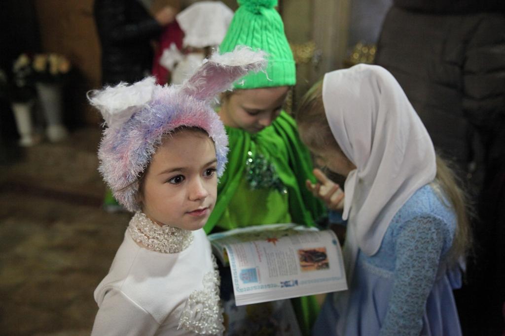 Состоялся детский рождественский праздник