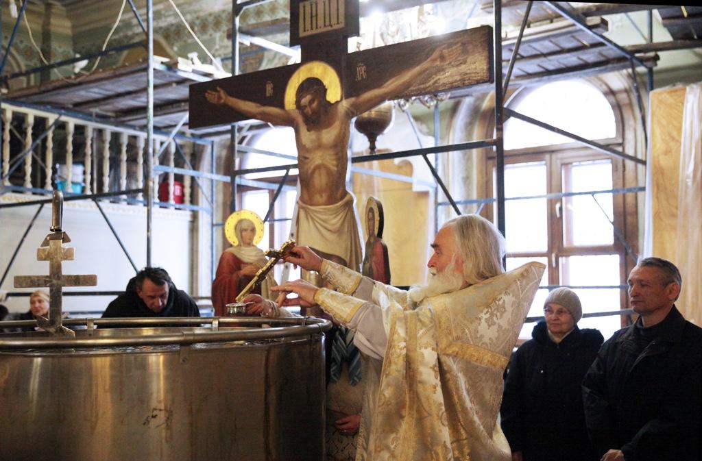Праздник Крещения Господня. Сочельник. Фото