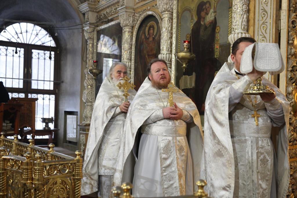Праздник Крещение Господня. Великое освящение воды.