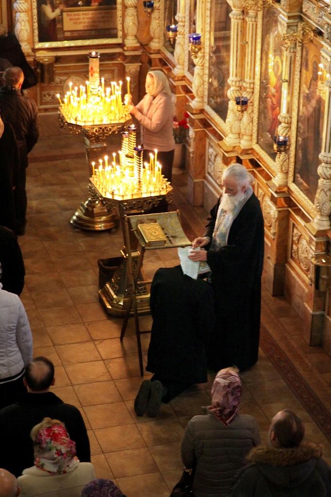 Праздник Благовещения. Всенощное бдение (фото)