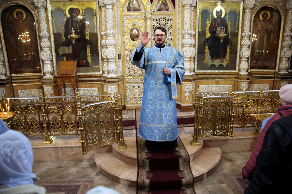 Праздник Благовещения. Литургия (фото)