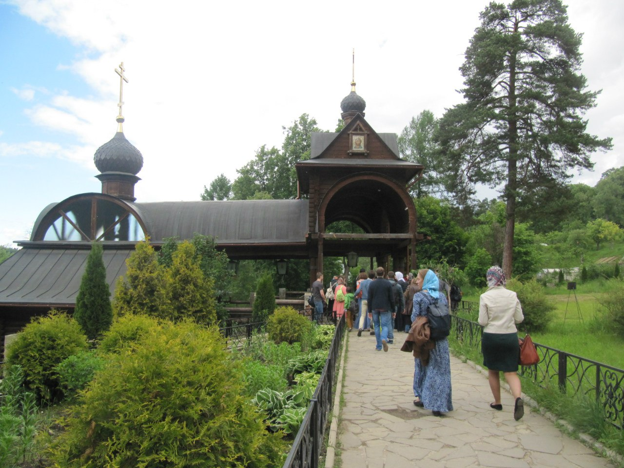 Молодежь храма совершила паломническую поездку в Савво-Сторожевский монастырь