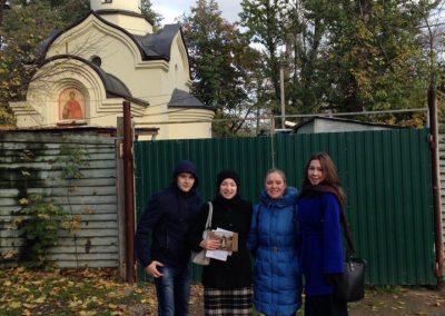 Молодежь храма приняла участие в квесте