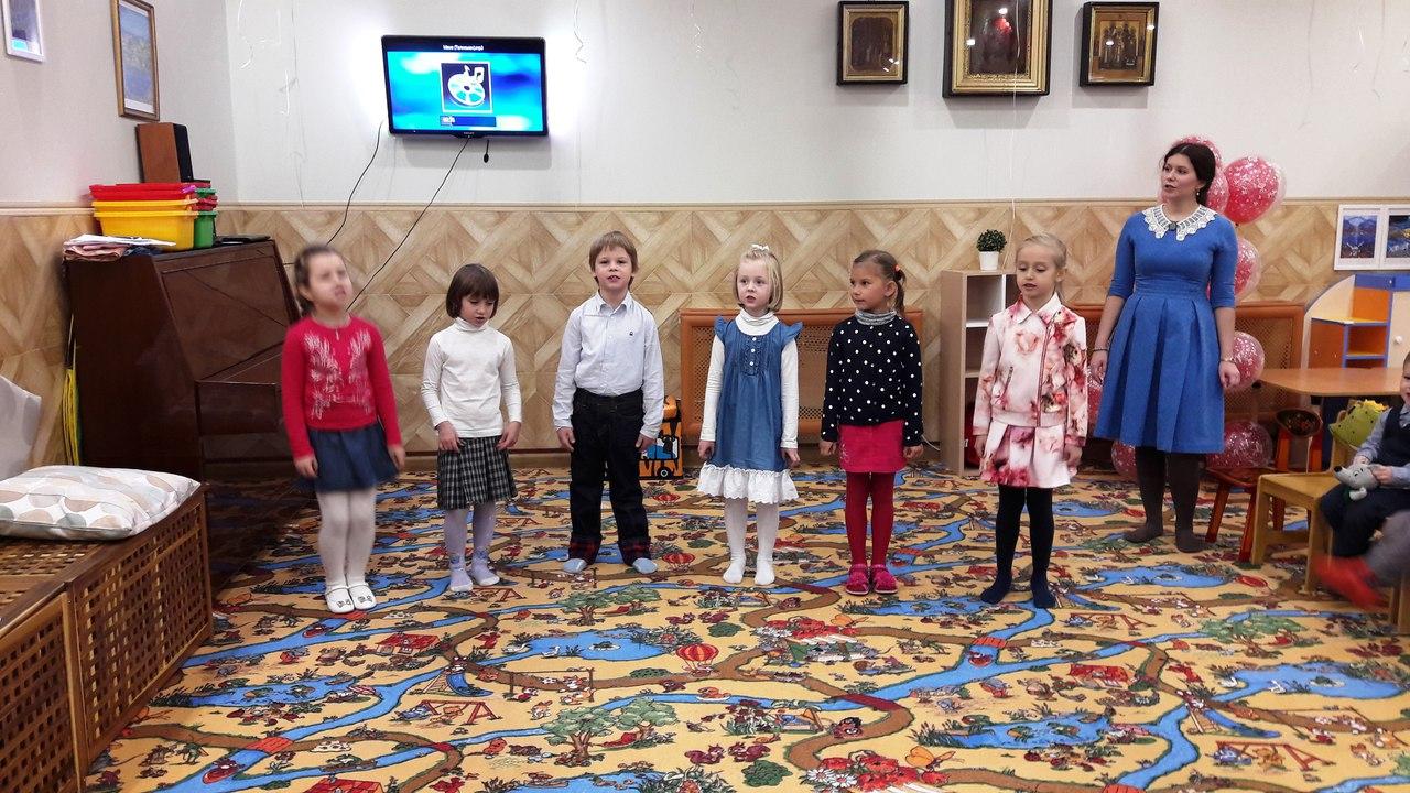 Празднование дня матери в дошкольных группах воскресной школы