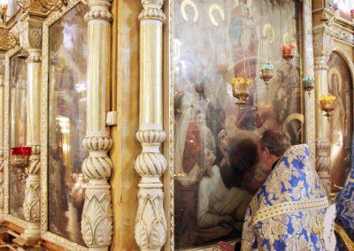"""Престольный праздник иконы Божией Матери """"Всех скорбящих Радость"""". Фото."""