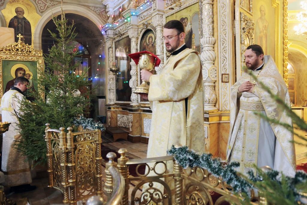 Праздник Рождества Христова. Ночная Литургия