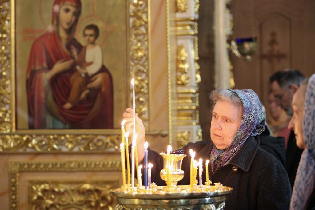 Праздник Благовещения. Всенощное бдение(фото)