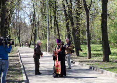Состоялся крестный ход и панихида по жертвам Первой мировой войны