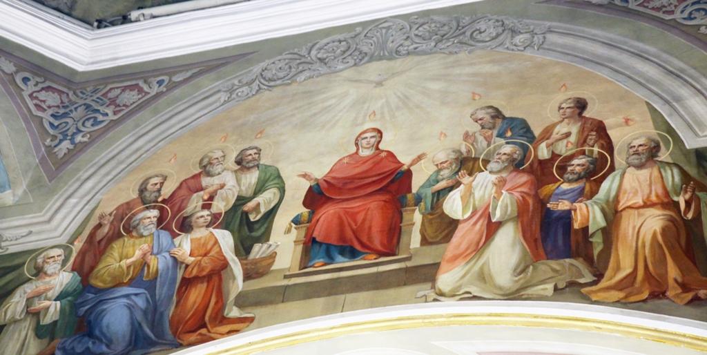 День Святой Троицы. Литургия. Фоторепортаж
