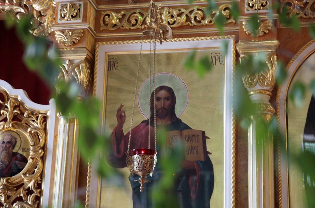 День Святой Троицы. Всенощное бдение. Фоторепортаж