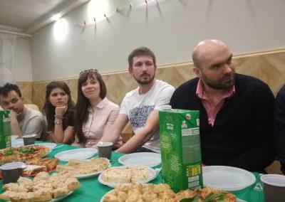Встреча молодежной группы с прот. Андреем Ткачевым
