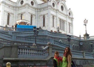 Молодежь нашего храма дежурила у мощей свт. Николая