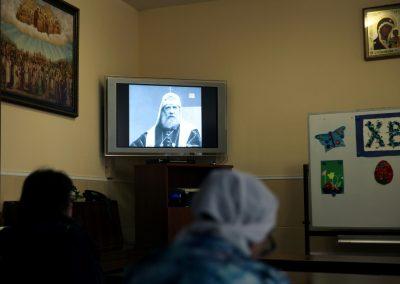 Состоялась беседа со священником об истории гонений на Церковь