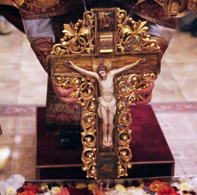 Чин Воздвижения Креста.Фото