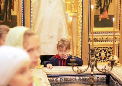 Состоялся молебен на начало учебного года в воскресной школе.