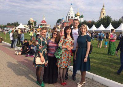 """Молодежь из группы """"Лествица"""" посетила детский реабилитационный центр Коломны"""