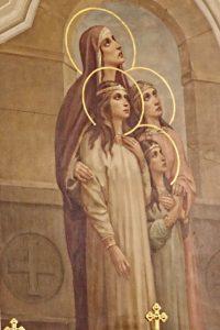 Святые мученицы Вера, Надежда, Любовь и матерь их София