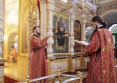 Праздник святых мучениц Веры, Надежды, Любви и Софии. Литургия. Фото.