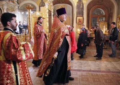 День памяти святых мучениц Веры, Надежды, Любви и Софии. Всенощное бдение.