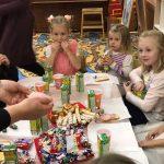 В подготовительной группе воскресной школы прошел детский Покровский праздник