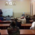 Состоялась лекция об истории православия в Виленской епархии.