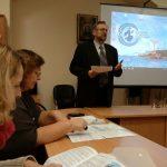 Педагоги Викариатской школы на Соколе приняли участие в обсуждении вопросов социального служения в Русской Православной Церкви