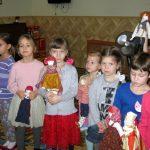 В младшей группе воскресной школы прошел фольклорный праздник