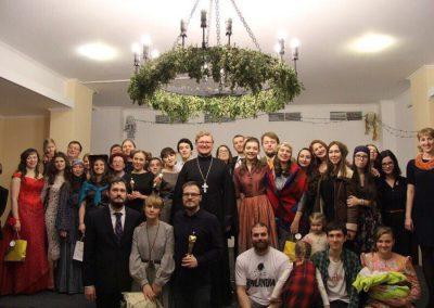 Молодежь храма подготовила и  показала рождественский спектакль