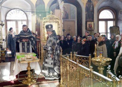 По окончании Лтургии совершен чин освящения колива