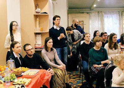 Встреча с Дмитрием  Менделеевым
