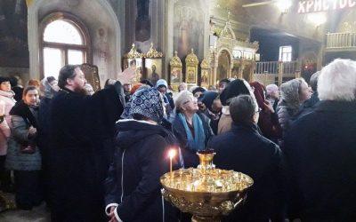 В воскресенье состоялась экскурсия по храму Всех Святых