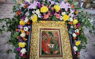 Всенощное бдение в день Святой Троицы. Фотогалерея