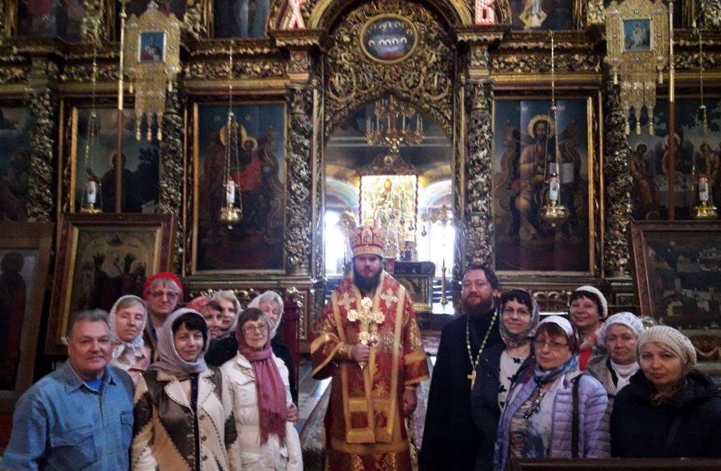 Прихожане храма совершили паломническую поездку в Псковскую митрополию