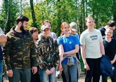 Молодежь храма сыграла в  военно-патриотическую игру