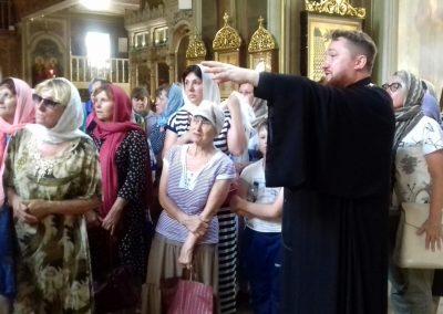 Состоялась экскурсия по храму для паломников из Тверской области