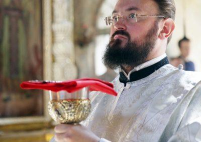 Праздник Преображения Господня в нашем храме. Фото.