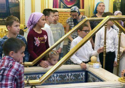 В воскресной школе храма начались занятия