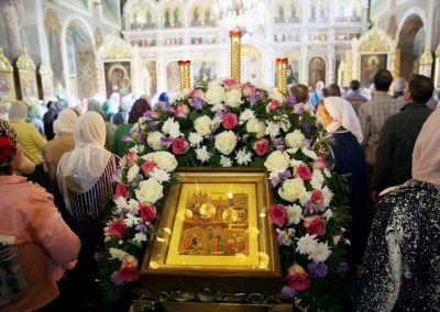 Литургия в день праздника Рождества Божией Матери. Фотоотчет